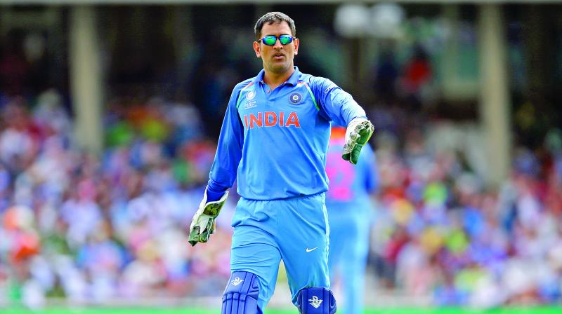 Mahendra Singh Dhoni is the 11th cricketer to receive the Padma Bhushan.