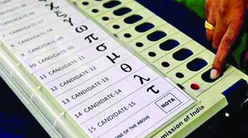 The TMC had staged protests outside Parliament, questioning the neutrality of EVMs and demanded that ballot papers be brought back for the 2019 Lok Sabha election. (Representational Image)
