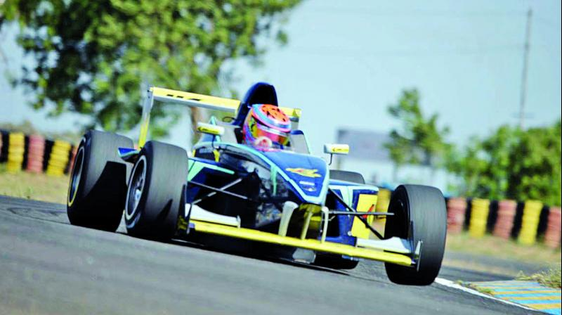 He is currently among the top Kart racers in India and has made his name in Asian competitions as well.