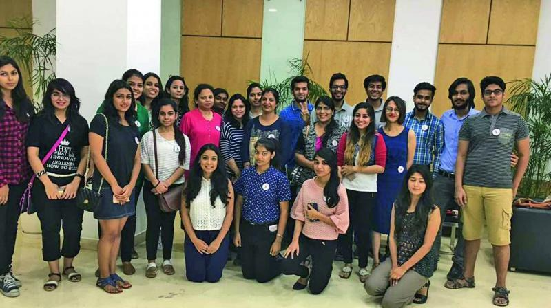 Young volunteers of Win Over Cancer.