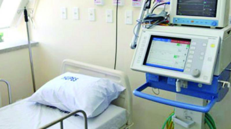 Representational image of a hospital's medical room.
