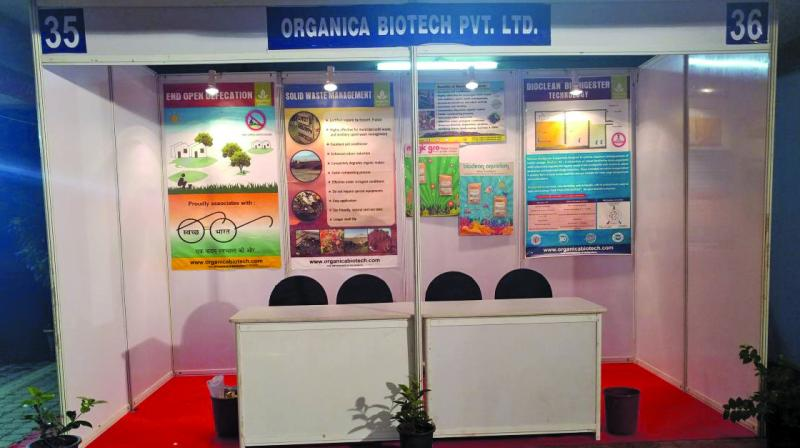 A total of 45 companies from Bangalore and Pune are participating in the exhibition which started on Friday.