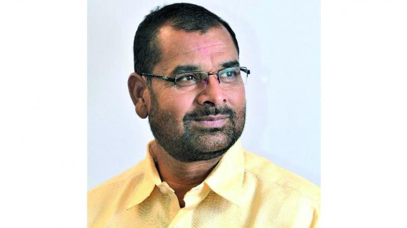 Maharashtra's minister of state for agriculture, Sadabhau Khot