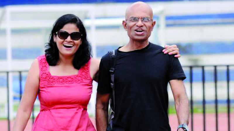 Sunil and Sangeeta have participated together in Bangalore Ultra-marathon, Mumbai Ultramarathon and Mumbai Stadium Run.
