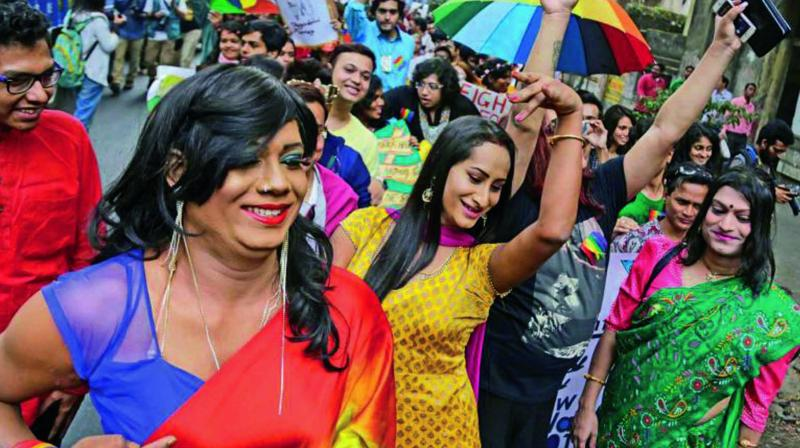 Statements made by Union minister Ramdas Athawale at a  workshop, where he  questioned why transgender women should only wear a sari, have sparked a storm among social commentators. (Pictures for representational purpose only)