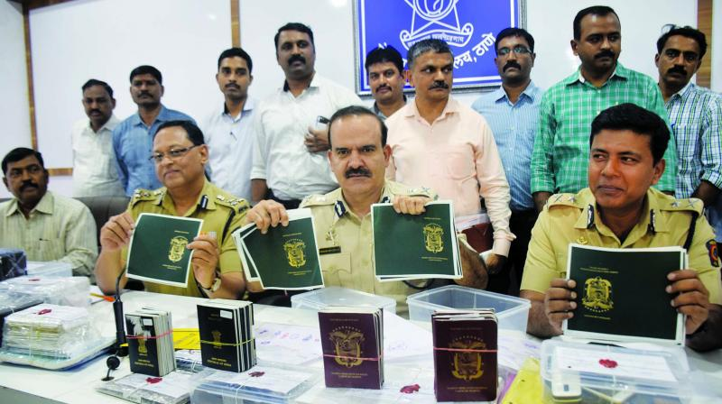 The Thane police claims that 500-600 people have got jobs with the fake certificates. (Photo: Deepak Kurkunde)
