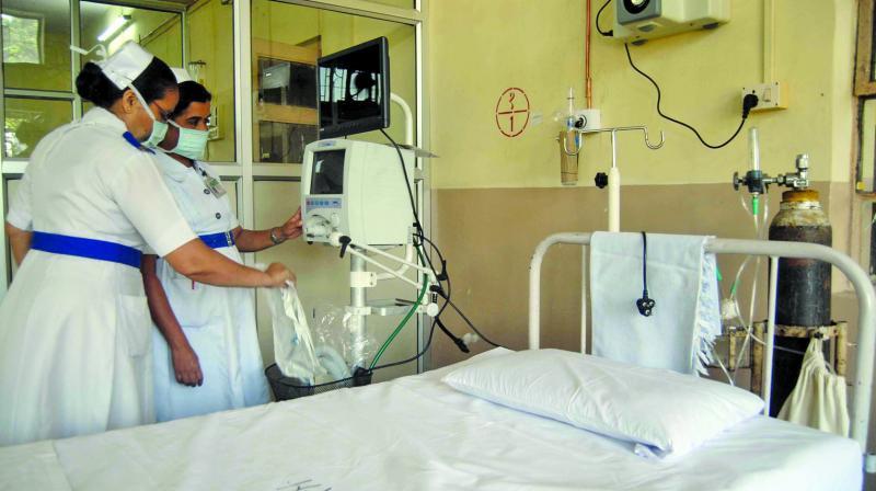 New Burari hospital bed capacity increased to 768