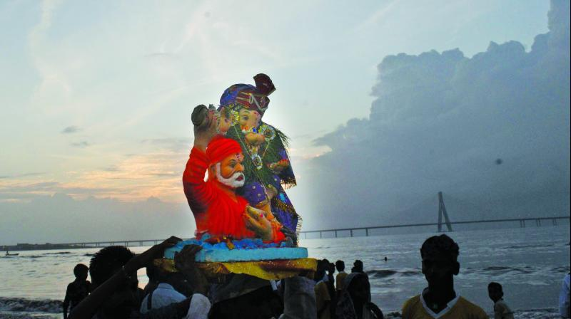 """A civic official said, """"We are planning to call a meeting with metro officials to decide the change in procession rou-tes. The Ganpati mandals, will be intimated well in advance about the same."""""""