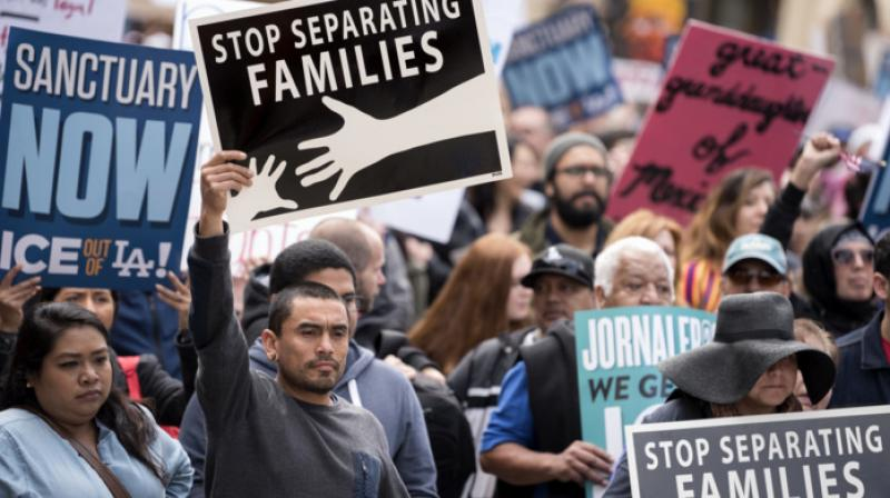 The hearing in San Diego occurred as the government accelerated reunifications at eight unidentified US Immigration and Customs Enforcement locations. (Photo: AP)