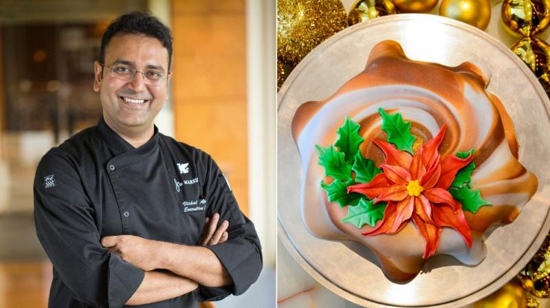Christmas, says the chef food symbolizes joy and gaiety of the festive season.