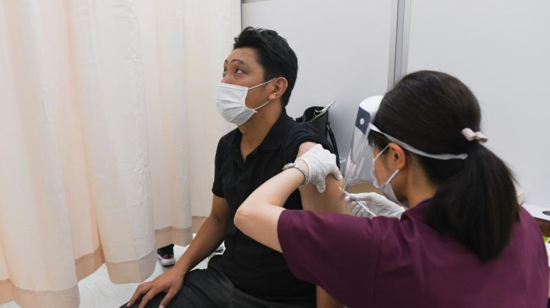 The vaccination rollout in Japan started off slow and late compared to other developed nations. (Photo: Bloomberg)