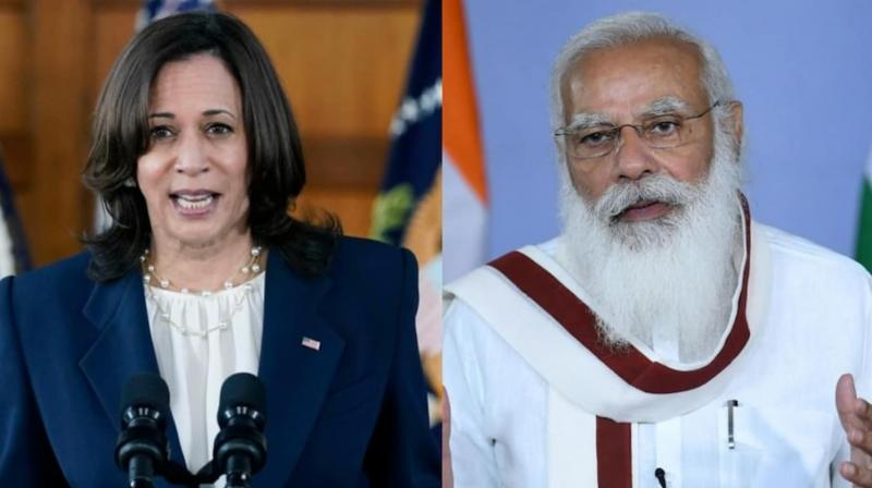 Harris had earlier spoken with Modi over the phone during the COVID-19 crisis. (Photo: PTI)