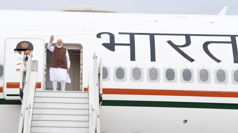 PM Modi will address the UN General Assembly and attend the Quad Summit as well. (Photo: Twitter/@PMOIndia)