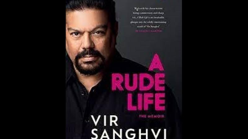 Cover of the book 'A Rude Life'