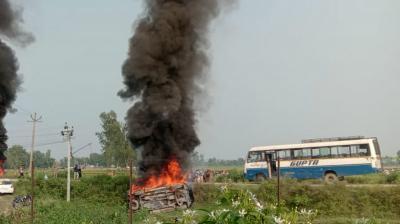 Lakhimpur Kheri violence: UP govt announces ex-gratia, job for kin of dead farmers