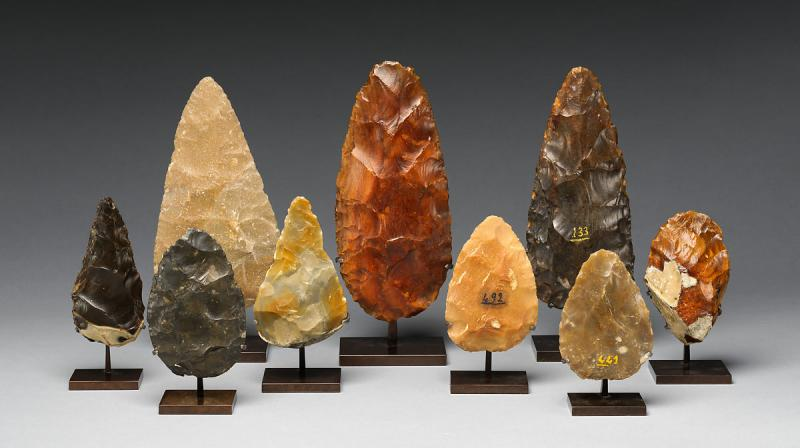 The longest lasting tool-making tradition in prehistory is known as the Acheulean. (Photo: MET Museum)