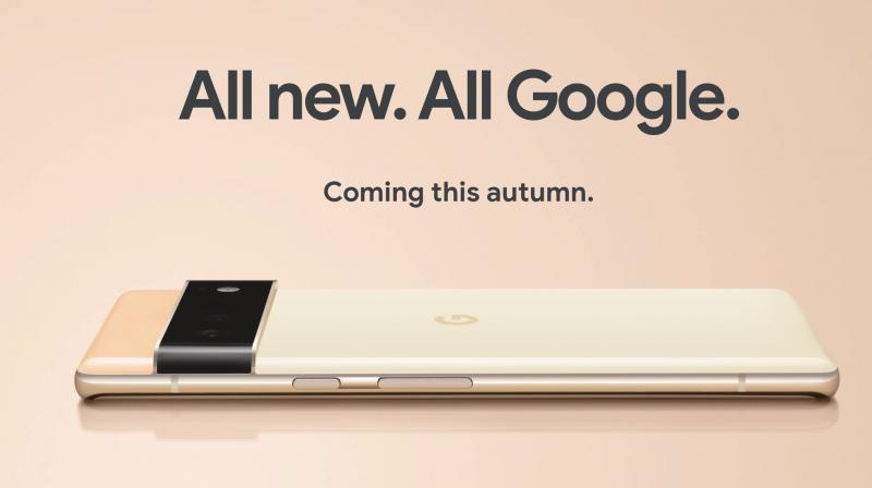 The Pixel 6 camera will have a 50MP main sensor and a 12MP ultrawide lens, and the Pixel 6 Pro will have a 48MP telephoto lens. (Photo: Twitter/@madebygoogle)