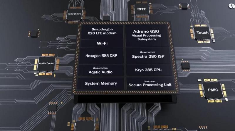 Qualcomm's chip will be the only one alongside the HiSilicon Kirin 980 from Huawei to be built on the 7nm process. (Representative Photo: Qualcomm)