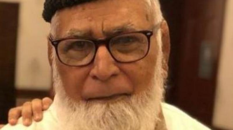 Mohammed Hussein Siddiqui, who passed away in Kalburagi, Karnataka on March 10.