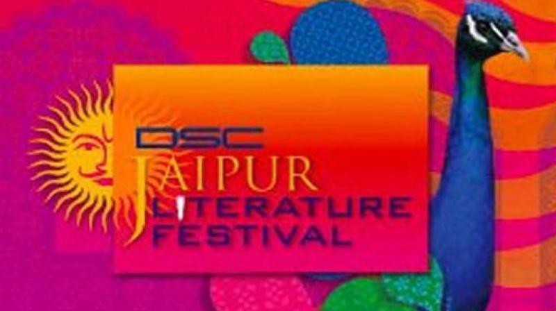 Jaipur Literature Festival logo.