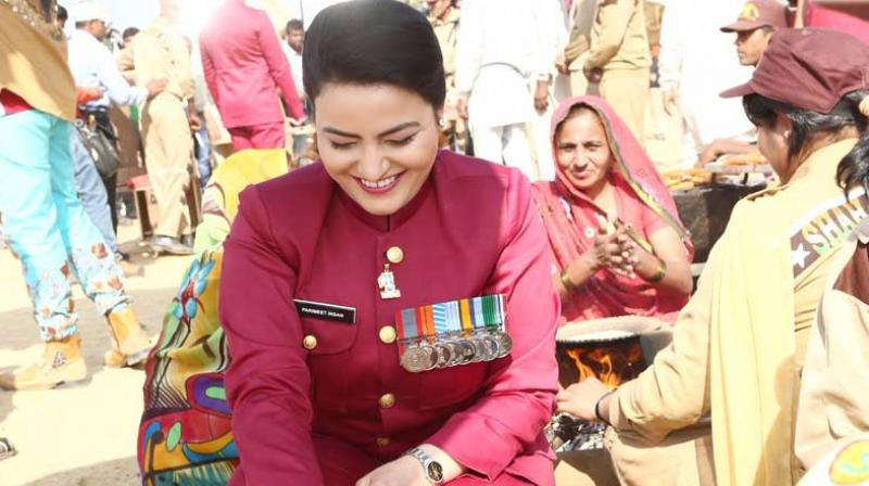 Considered a confidante of the Dera chief, Honeypreet Insan has also emerged as his likely successor to head the controversial sect. (Photo: honeypreetinsan.me)