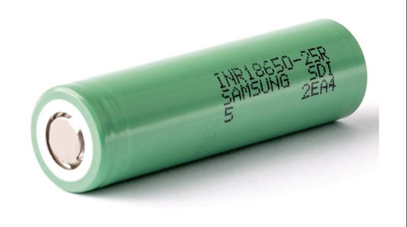 Samsung 25R 18650 Green