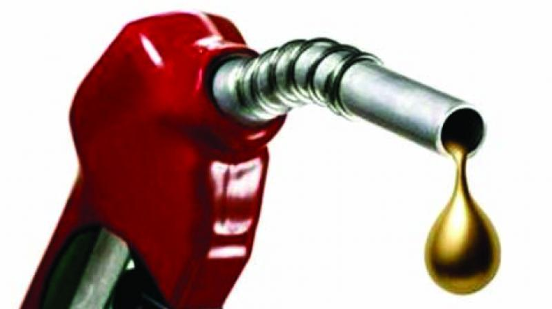 The consumer pays much more for the fuel because of the various taxes imposed on the fuel by the Centre and states.