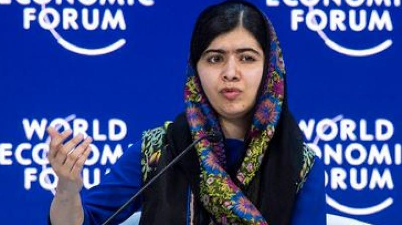 Malala has become a global symbol for human rights and a vocal campaigner for girls' education since 2012. (Photo: AP)