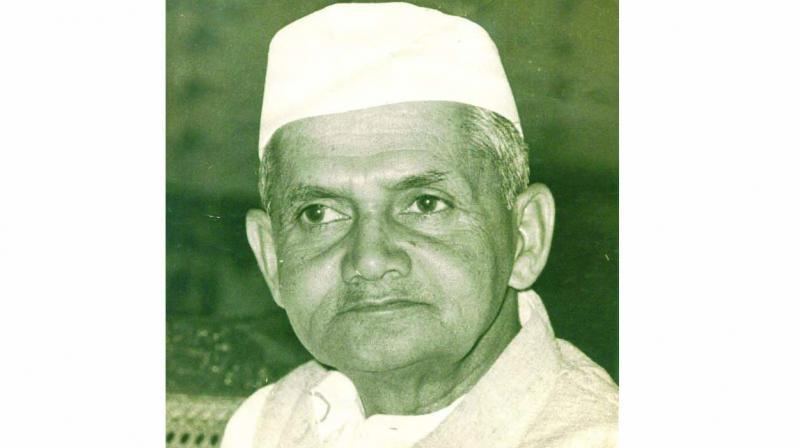Former Prime Minister Lal Bahadur Shastri
