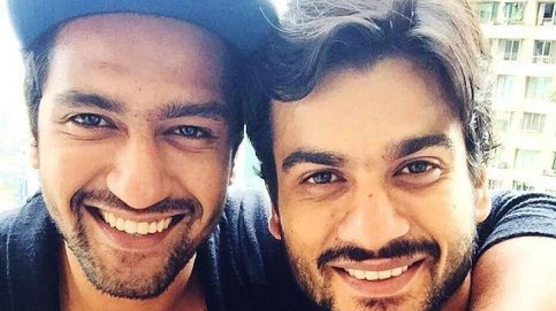 Vicky Kaushal with brother Sunny Kaushal.