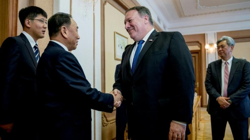 The tone was in stark comparison to Pompeo's characterisation of the talks in Pyongyang as a success, though critically he failed to present any new details as to how North Korea would honour its summit commitment to