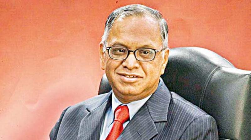 Infosys founder N R Narayana Murthy. (Photo: PTI).
