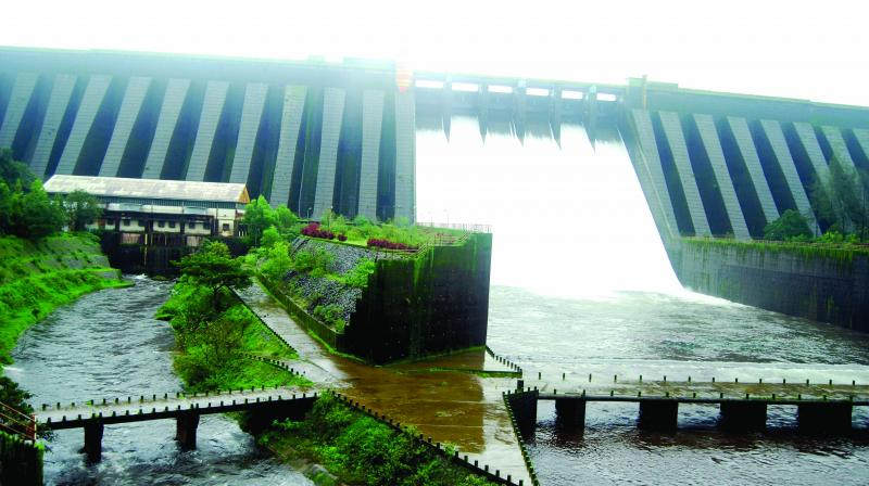 Koyna dam reservoir in Koyna city of Maharashtra from where leakages have resulted in earthquakes getting repeated again and recorded several times since 1967.