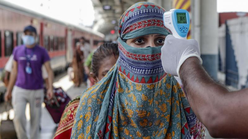 The government is also contemplating allowing Mumbaikars, who have taken both doses, to travel in local trains. (Representational image: PTI)