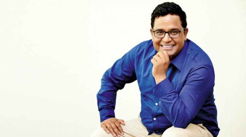'If anyone wants to take the data, they should take it on a sample basis,' Payments platform Paytm chief Vijay Shekhar Sharma said speaking at the TiE India Internet Day 2019. (Photo: blog.paytm.com)