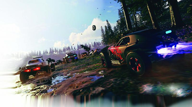 There are no standard races in Onrush and all game modes are themed around two teams of six players each.