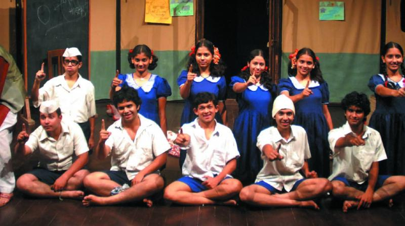 Last week Natak Company, a troupe from Pune, turned ten by having a festival of their work in Bombay and Pune.