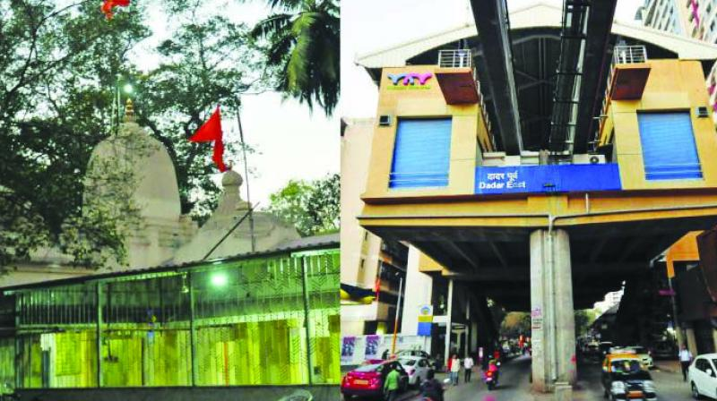 Dadar east monorail stations Dadar east continues not to have a NOC from the fire department. 	(Representational Image)