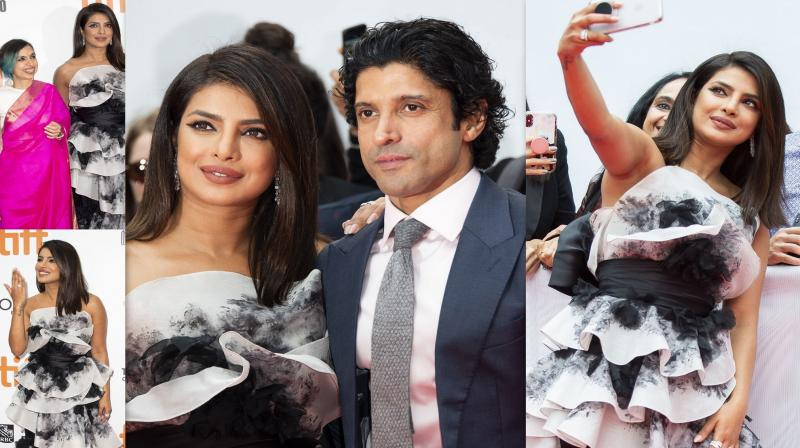 TIFF 2019: 'The Sky Is Pink' stars Priyanka, Farhan dazzle on red carpet