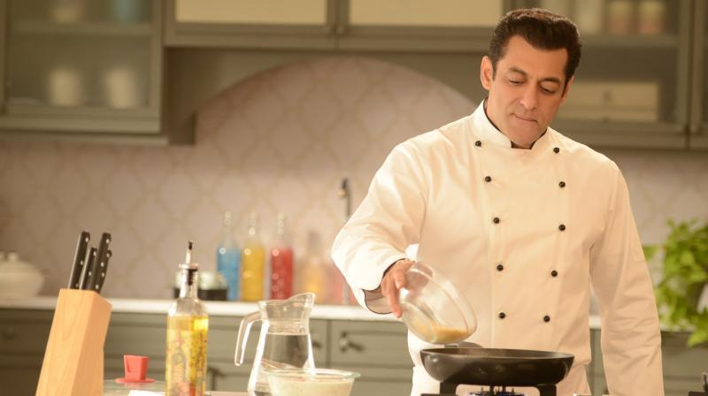 Salman Khan as Chef.