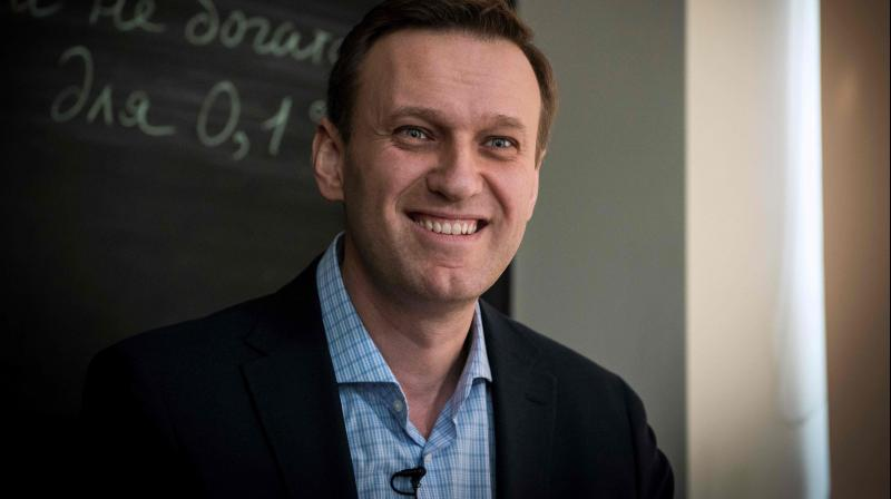 Russian opposition leader Alexei Navalny. (AFP)