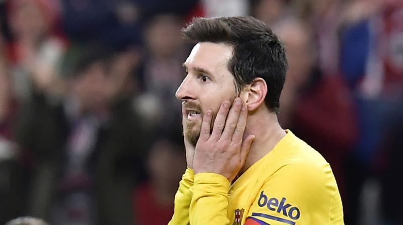 Lionel Messi. (AP)