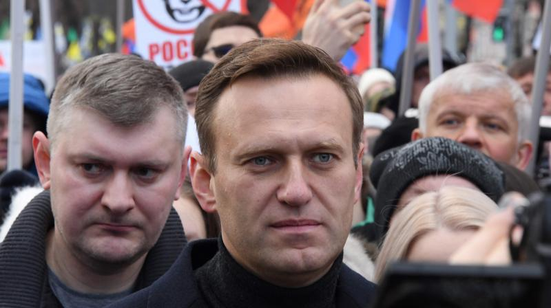 Russian opposition leader Alexei Navalny. (AFP File)