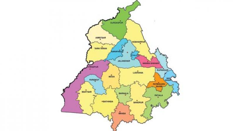Punjab World Map.Hung House In Punjab Say Bookies On Poll Eve
