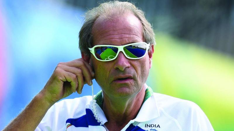 National coach Roelant Oltmans