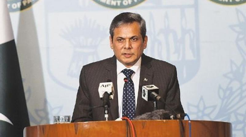 When asked about Afghan President Ashraf Ghani linking his visit to Islamabad with Pakistan taking action against militants, Zakaria said the problems of Afghanistan are internal. (Photo: AFP)