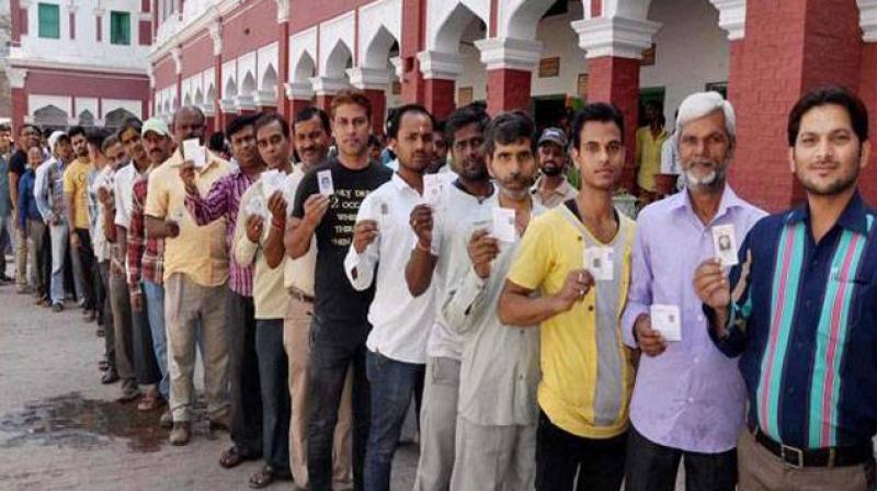 Panchayat Polls in Haryana.(Photo:PTI)