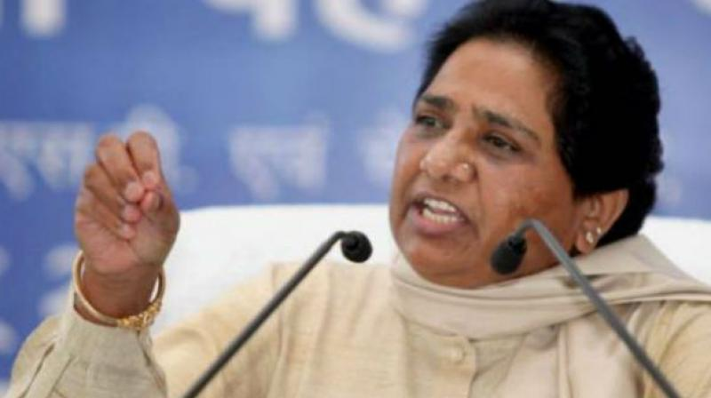 The BSP does not have the requisite number of MLAs in UP Assembly to bag a Rajya Sabha seat. (Photo:PTI)
