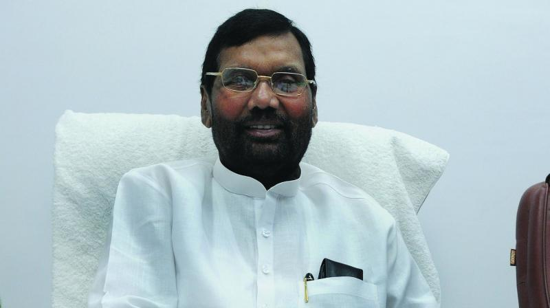 Food Minister Ram Vilas Paswan. (Photo: Biplab Banerjee)