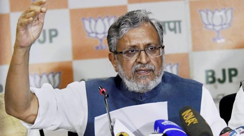 BJP leader Sushil Kumar Modi (Photo: AP)